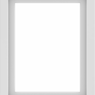 WDMA 24x30 (23.5 x 29.5 inch) Vinyl uPVC White Picture Window without Grids-1