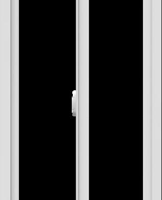 WDMA 24x60 (23.5 x 59.5 inch) Vinyl uPVC White Slide Window without Grids Interior