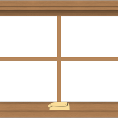 WDMA 30x20 (29.5 x 19.5 inch) Oak Wood Dark Brown Bronze Aluminum Crank out Awning Window with Colonial Grids Interior