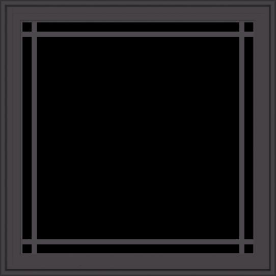 WDMA 36x36 (35.5 x 35.5 inch) Pine Wood Dark Grey Aluminum Crank out Casement Window with Prairie Grilles