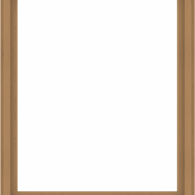 WDMA 64x76 (63.5 x 75.5 inch) Composite Wood Aluminum-Clad Picture Window without Grids-1
