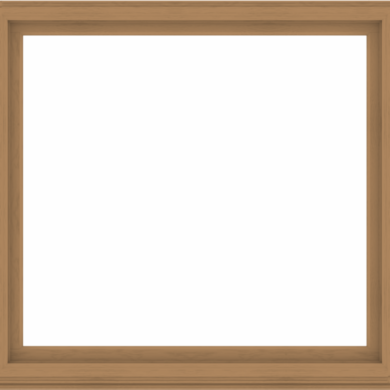WDMA 68x64 (67.5 x 63.5 inch) Composite Wood Aluminum-Clad Picture Window without Grids-1