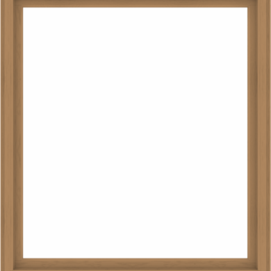 WDMA 68x76 (67.5 x 75.5 inch) Composite Wood Aluminum-Clad Picture Window without Grids-1