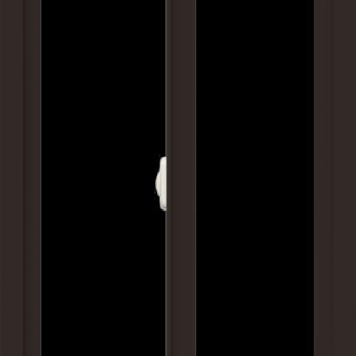 WDMA 24x36 (23.5 x 35.5 inch) Dark Bronze aluminum Slide Window without Grids Interior