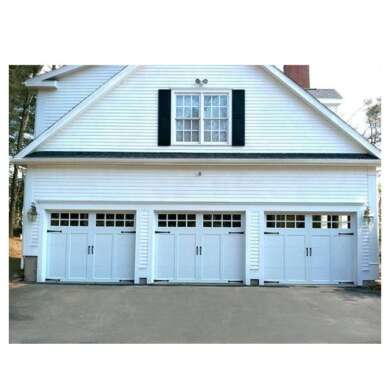 WDMA 16x7 Aluminium Insulated Tempered Glass Garage Door Price