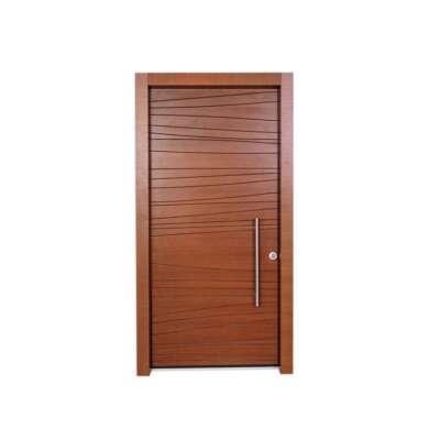 WDMA 30 X 79 36 X 80 48 Inches European Exterior Fire Rated MDF Board HDF Wood Walnut Veneer Door