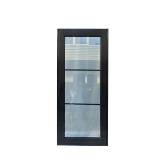 China WDMA Aluminum Frosted Glass Door