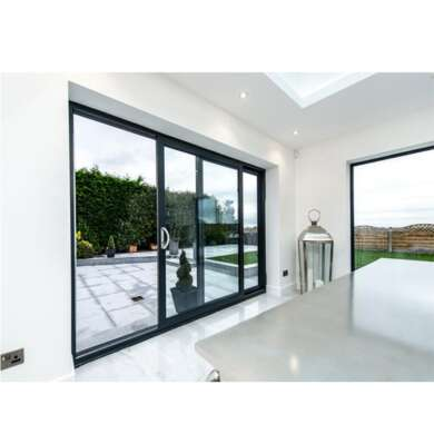 WDMA Aluminium As2047 And As2208 Anti Theft Glass Lift And Sliding Doors