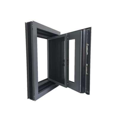 WDMA Aluminium Casement Jalousie Window With Sub Frame