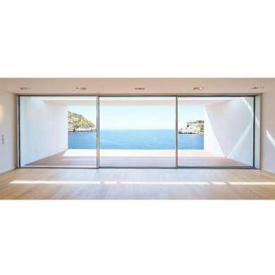 WDMA Aluminium Commercial As2047 And As2208 Heavy Duty Glass Sliding Door