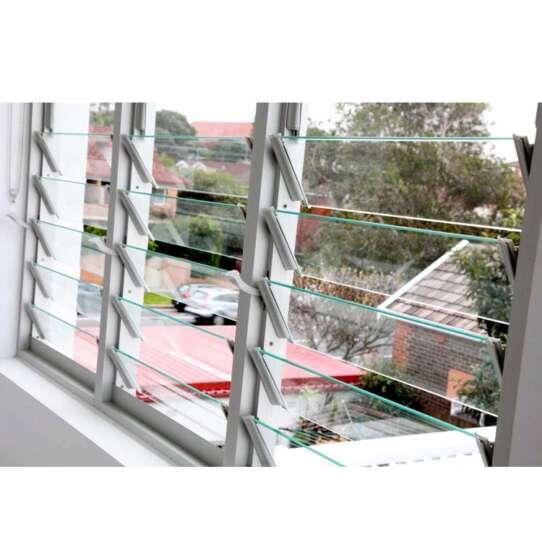 China WDMA Aluminium Louver Window