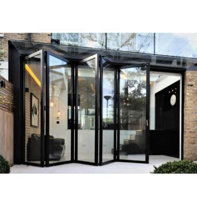 WDMA Aluminium Folding Door External Folding Doors Aluminium Concertina Doors