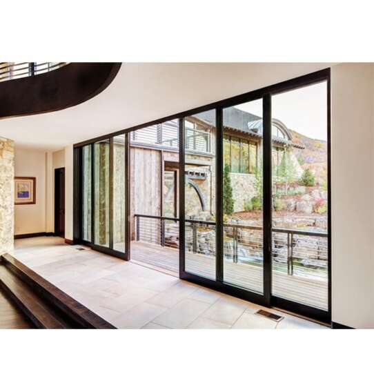 WDMA aluminium doors windows Aluminum Folding Doors