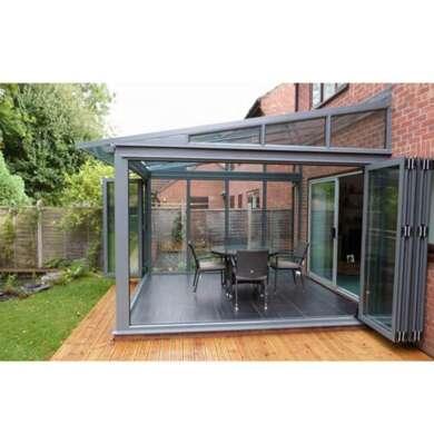 WDMA Aluminium Glass Enclosure Sunroom Conservatories For Solarium