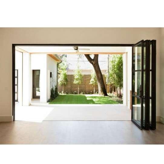 WDMA bifolding door Aluminum Folding Doors