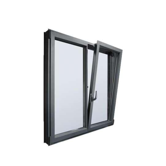 China WDMA Aluminium Hinge Bottom Hinged Window White Powder Coating