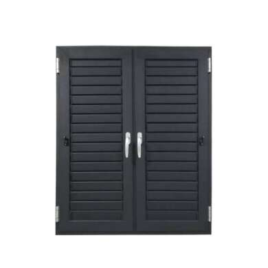 WDMA Aluminium Louver Window Metal Louver Door And Window Oem Design