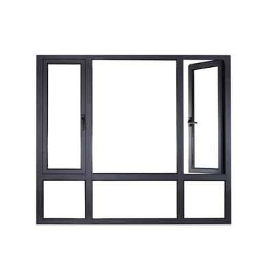WDMA Aluminium Profile Double Glazed Casement Windows