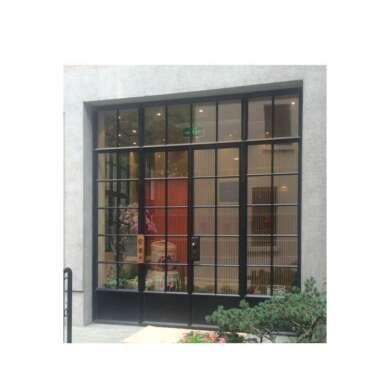 WDMA Aluminium Security Profile Interior Glass Window And Door For Bedroom