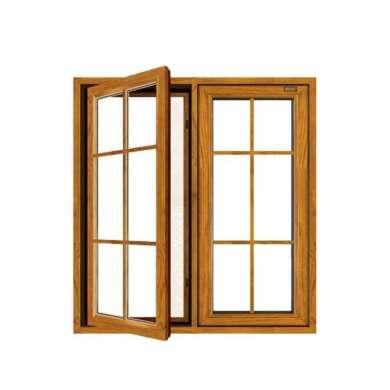 WDMA Aluminum Alloy Casement Inward Opening Casement Window