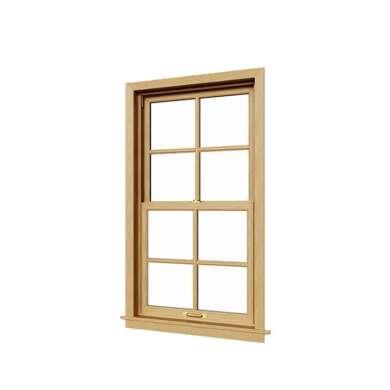 WDMA Aluminum Alloy Double Hung Uganda Window And Door