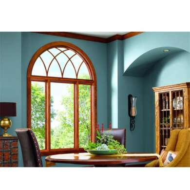 WDMA Aluminum Alloy Frame Material And Fixed Open Style Impact Tall Window With Tempered Glass Price In Morocco