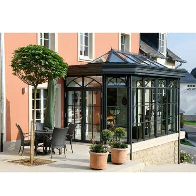 WDMA Aluminum Conservatory With Blinds Prices