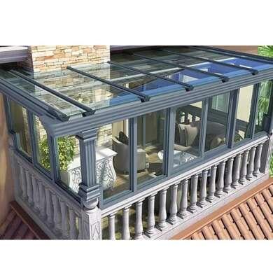 WDMA Aluminum Flat Roof Sunroom Glass Sunrooms Glass Houses