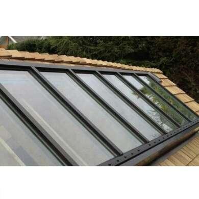 WDMA Aluminum Frame Skyview Roof Sky Light Laminated Glass Impact Project Window