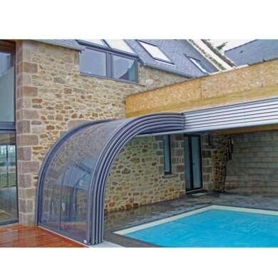 WDMA Aluminum Frame Sunroom Glass Home Veranda Design For Home