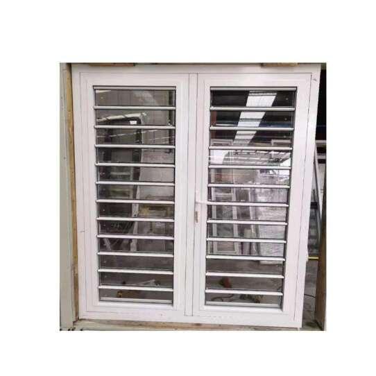 WDMA Jalousie Window Frosted Glass