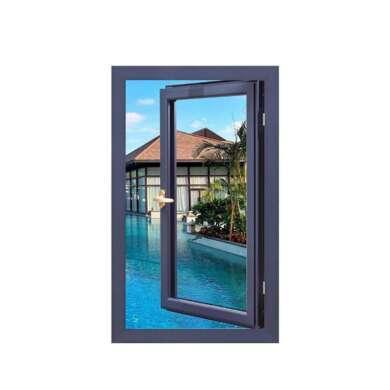 WDMA Aluminum Outward Opening Security Casement Window