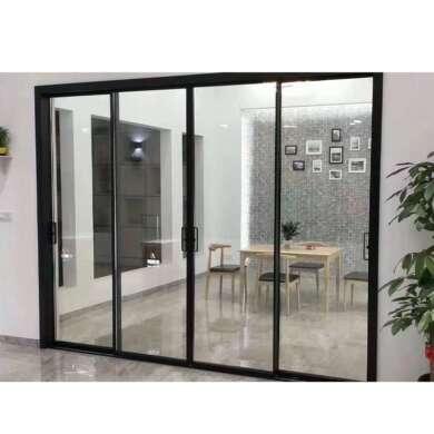 WDMA Aluminum Soundproof Interior Sliding Glass Door Price