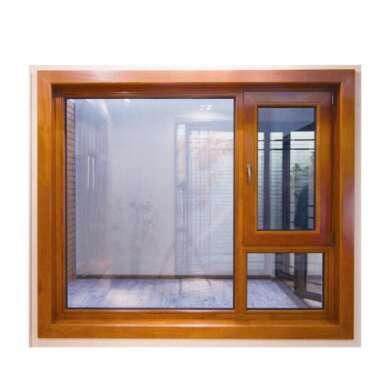 WDMA American Aluminum Clad Timber Glass Doors And Windows Cladding Wood Windows