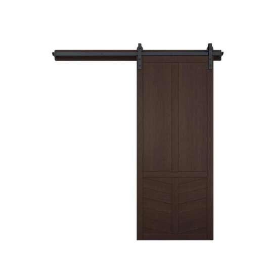 WDMA wood barn door Wooden doors