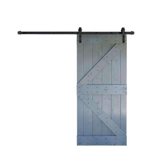 China WDMA wood barn door