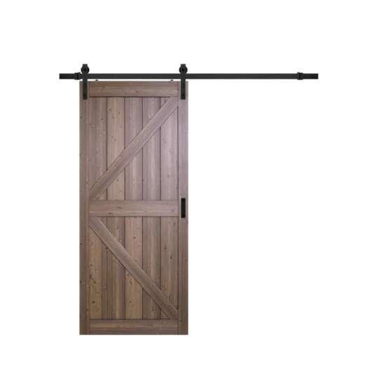 China WDMA wood barn door Wooden doors