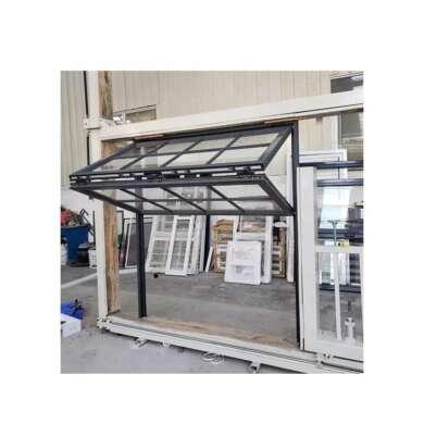 WDMA American Style Aluminum Vertical Folding Glass Windows Doors