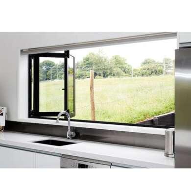WDMA American Style Kitchen Folding Windows Aluminium