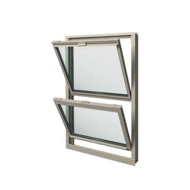 WDMA American Style Vertical Sliding Window Plate Glass Window Price