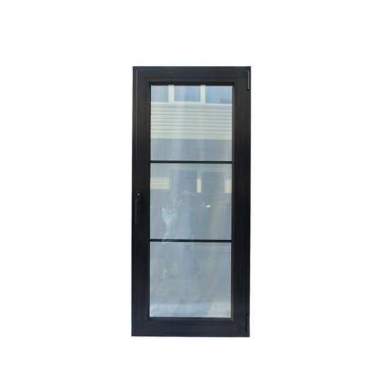 China WDMA apartment door Aluminum Hinged Doors