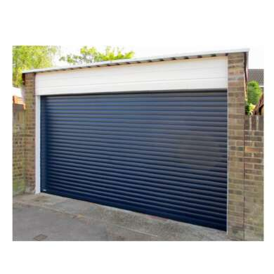 WDMA Best Quality Cheap Price Roller Vertical Bifold Style Smart Garage Doors With Pedestrian Door