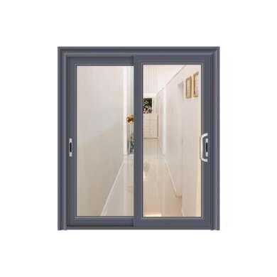 WDMA Bronze Broken Bridge Aluminium Alloy Slat Slide Sliding Door And Window For Builders Warehouse Comfort Room From Shandong Price