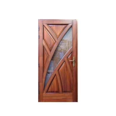 WDMA Burma Teak Wood Carving Simple Modern House Main Door Design