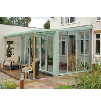 WDMA Cheap Four Seasons Sunrooms Greenhouse Price