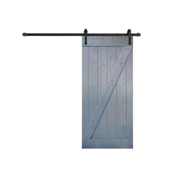 WDMA sliding barn door Wooden doors