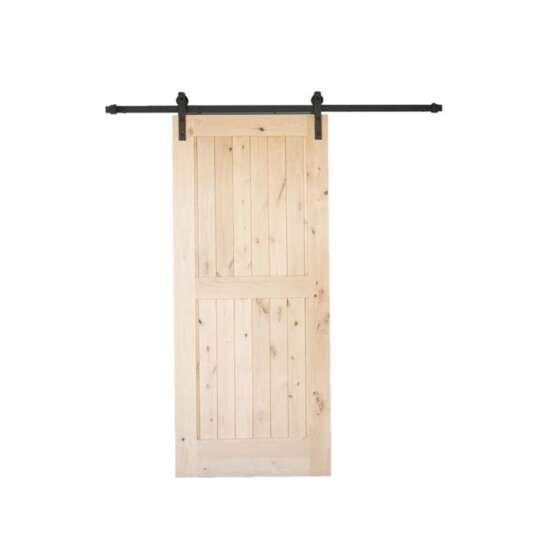 China WDMA sliding barn door Wooden doors