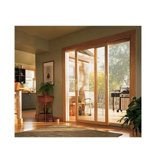 WDMA Cheap Price Of Solid Wood Flush Door Price Sliding Door