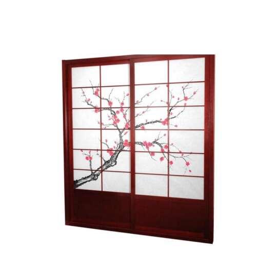 China WDMA sliding door Wooden doors