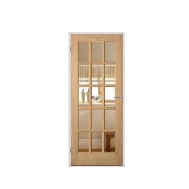 WDMA Cheap Price Of Turkey Bedroom Lattice Wooden Door